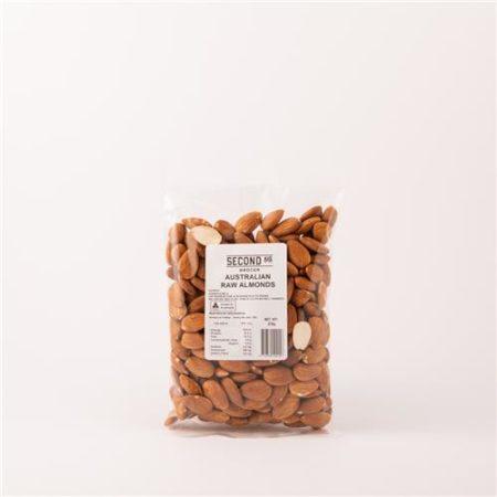 Second Ave Australian Raw Almonds 375g