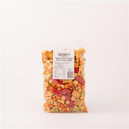 Second Ave Baked Not Fried Rice Crackers 200g