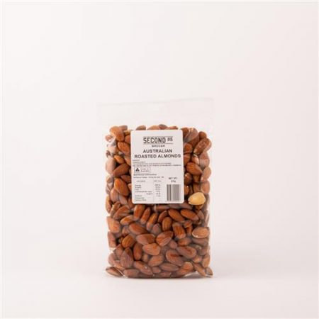 Second Ave Australian Roasted Almonds 375g