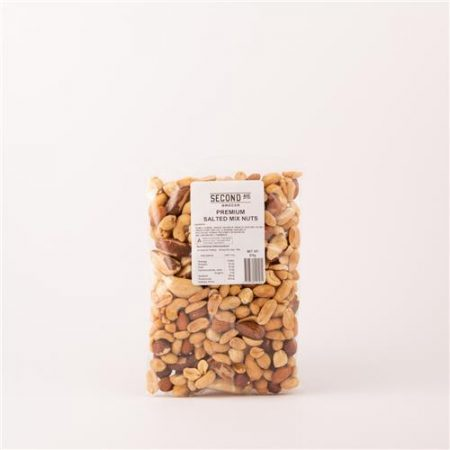 Second Ave Premium Salted Mix Nuts 375g