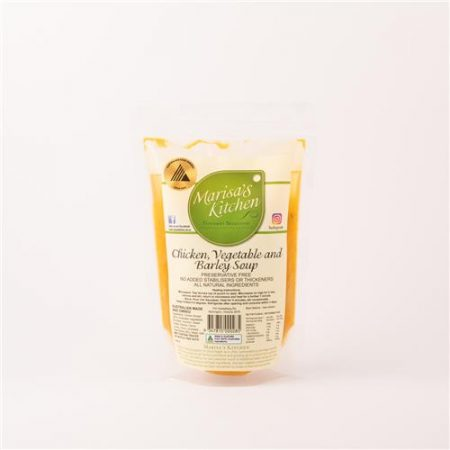 Marisa's Kitchen Chicken vegetable and Barley Soup 500ml