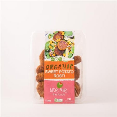 Bite Me Fine Foods Organic Sweet Potato Rosti 300g