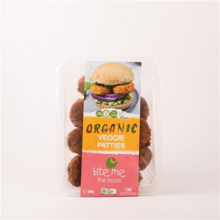Bite Me Fine Foods Organic Veggie Patties 300g