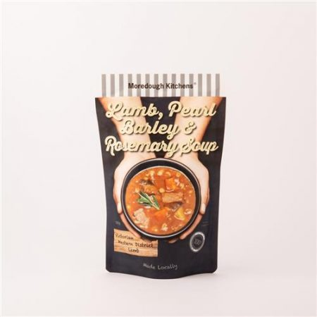 Moredough Kitchens Lamb Pearl Barley & Rosemary Soup 500g