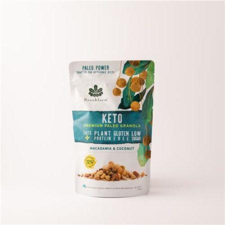 Brookfarm Keto Paleo Granola Macadamia & Coconut 330g