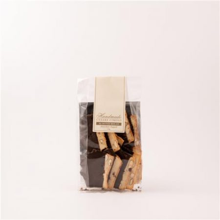 Cesare Cimino Almond Bread Chocolate Dipped 150g
