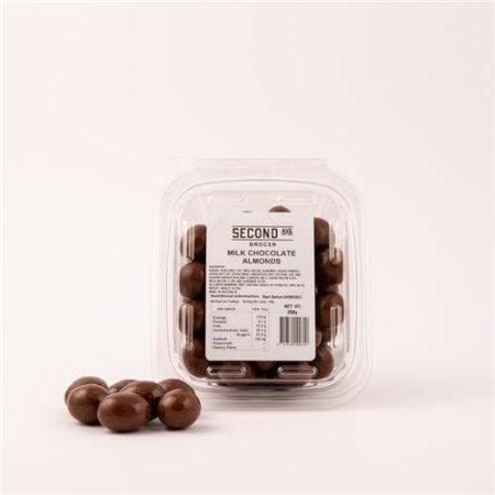 Second Ave Milk Chocolate Almonds 200g