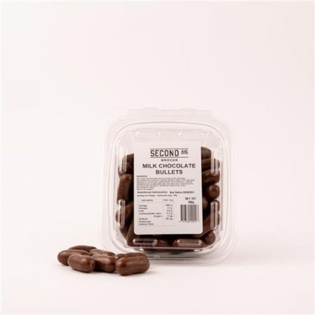 Second Ave Milk Chocolate Bullets 200g