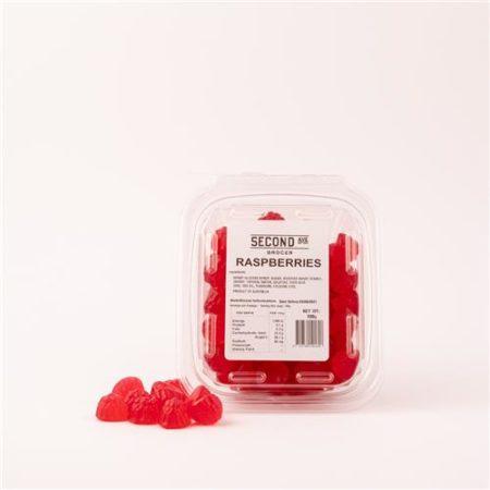 Second Ave Raspberries 200g