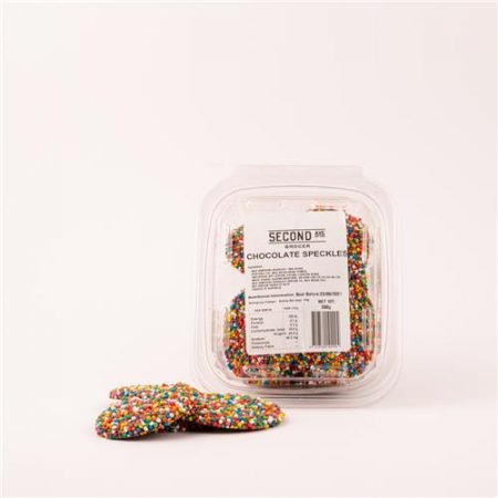 Second Ave Chocolate Speckles 200g