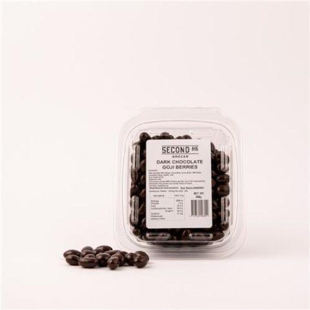 Second Ave Dark Chocolate Goji Berries 200g