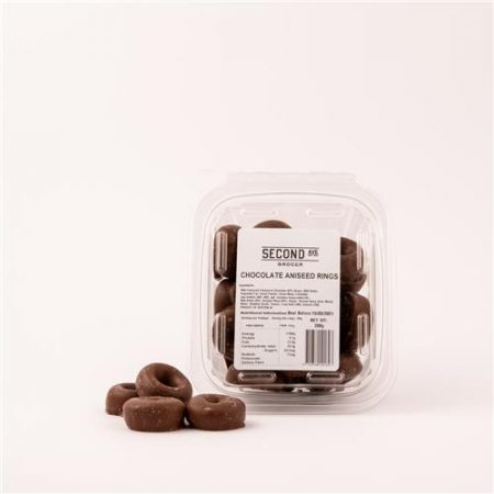 Second Ave Chocolate Aniseed Rings 200g