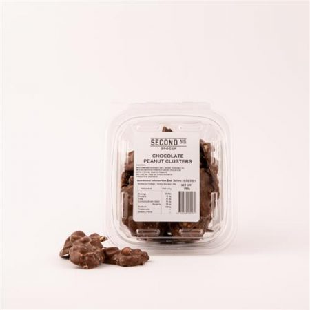 Second Ave Chocolate Peanut Clusters 200g