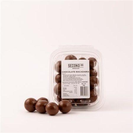 Second Ave Chocolate Macadamia 200g