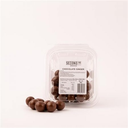 Second Ave Chocolate Ginger 200g