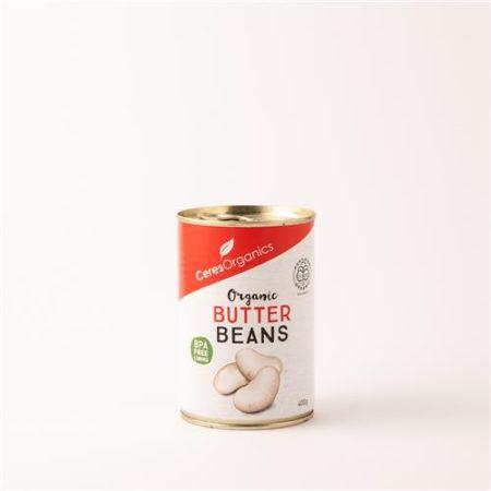 Ceres Organic Butter Beans 400g