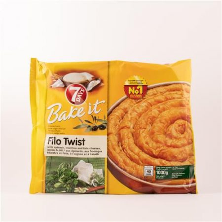 7 Days Filo Twist Spinach & Feta 1kg
