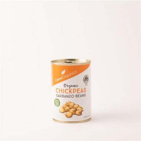 Ceres Organic Chickpeas Garbanzo Beans 400g