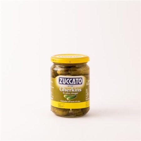 Zuccato Gherkins in Wine Vinegar 330g