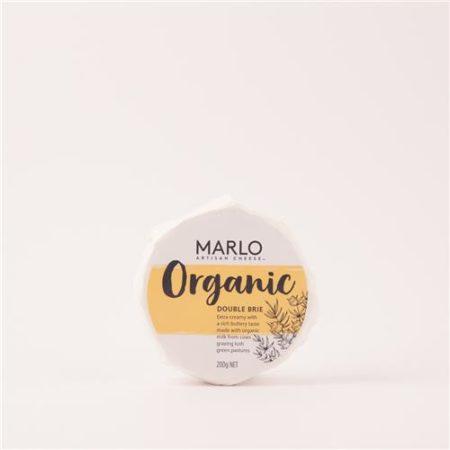 Marlo Organic Double Brie 200g