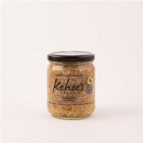 Kehoes Traditional Sauerkraut 410g