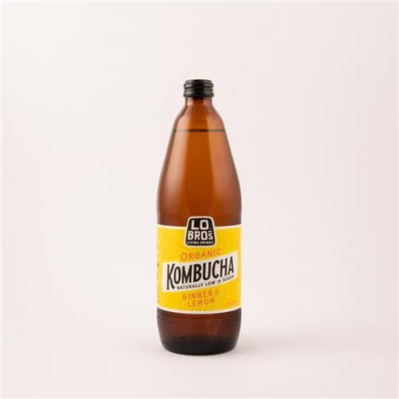 Lo Bros Kombucha Ginger & Lemon 750ml