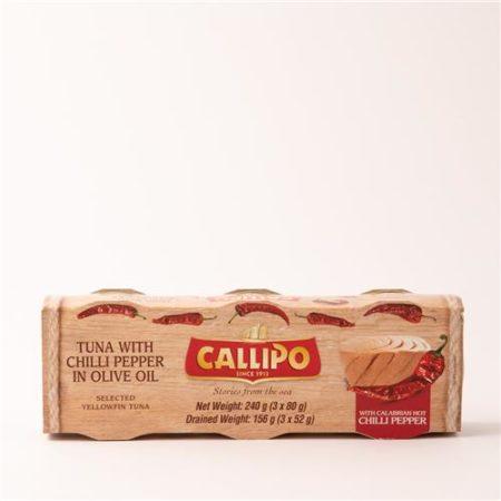 Callipo Tuna in Chilli Olive Oil 3 x 80g