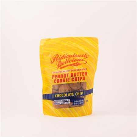 Ridiculously Delicious Peanut Butter Cookie Choc Chip 150g
