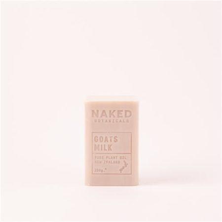 Naked Botanicals Goats Milk Soap 200g