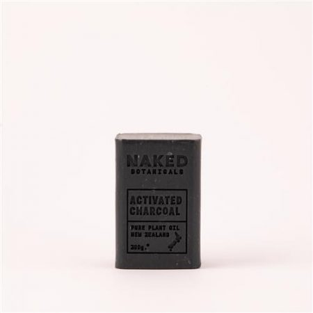 Naked Botanicals Activated Charcoal Soap 200g