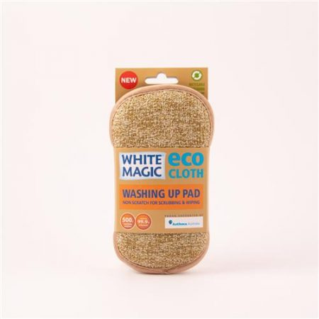 White Magic Eco Cloth Washing Up Pad Forrest