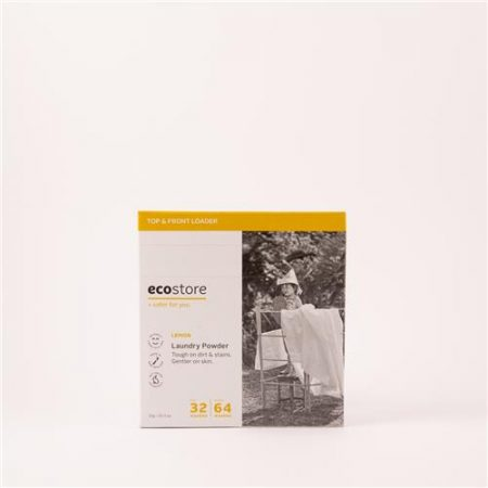 Ecostore Laundry Powder Top/Front Lemon 1kg