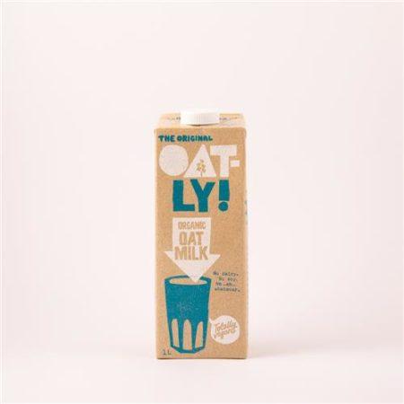 Oatly Oat Milk Organic 1L