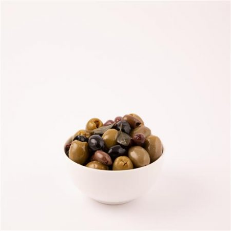Fresh Herb Pitted Mixed Olives - no Garlic