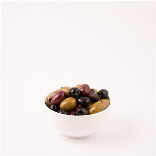 Marinated Pitted Mixed Olives