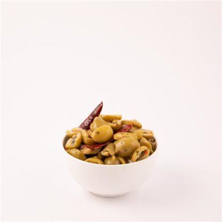 Spanish Green Split Spicy Olives