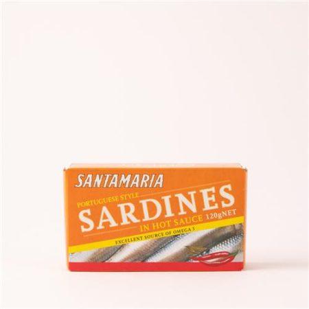 Santamaria Sardines in Hot Sauce 120g
