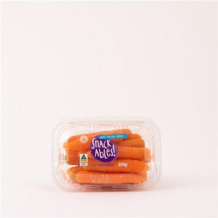 Baby Carrots Snackable 250g