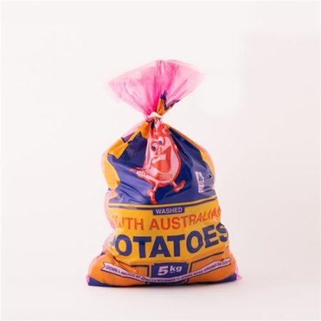 Washed White Potatos 5kg Bag