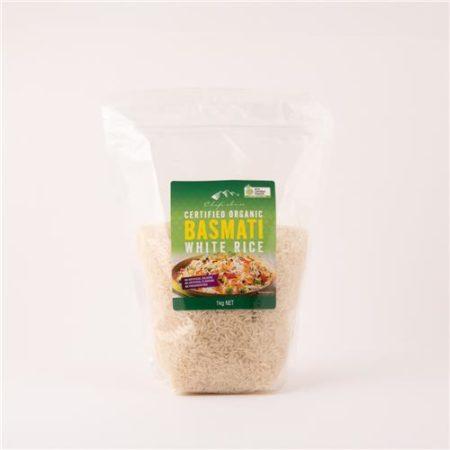 Chef's Choice Organic Basmati White Rice 1kg