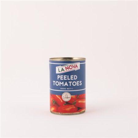 La Nova Whole Pealed Tomato 400g x 12 Slab