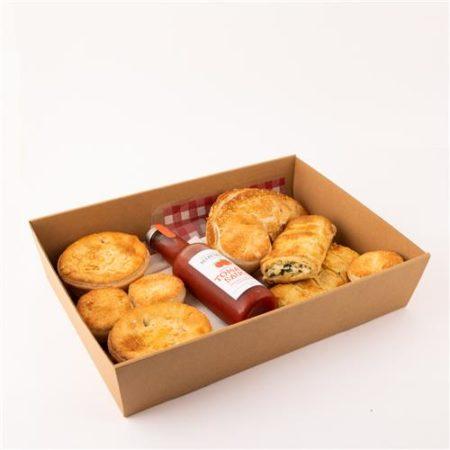Vegetarian Pastry Box