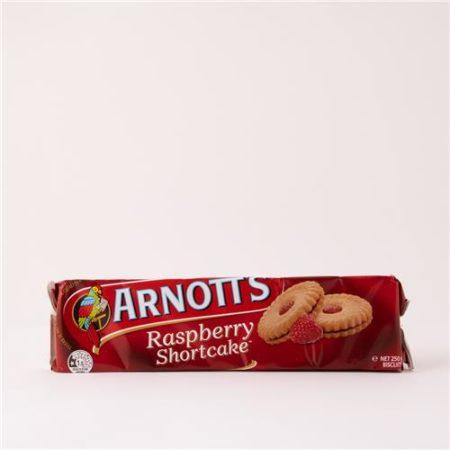 Arnott's Raspberry Shortcake Biscuits 250g