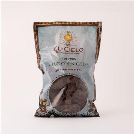 El Cielo Totopos Blue Corn Chips 250g
