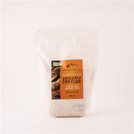 Oragnic Wholegrain Rye Flour 500g